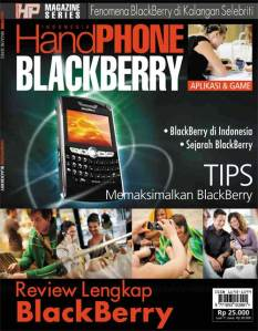 Telepon selular blackberry-ria