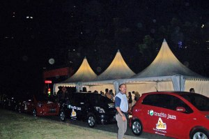 Toyota Yaris siap dipersembahkan bagi pemenang.