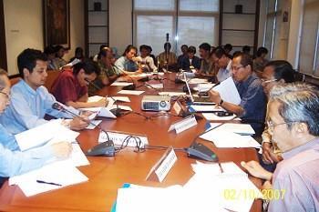 Diskusi kebahasaan FBMM di Kompas, Jakarta