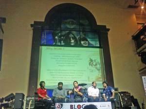 Icha, Dominicus Susanto, Pahala Sinaga, Budi Putra, Handono Warih