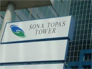 Menara Sona Topas (seharusnya) Sona Topas Tower (fakta)