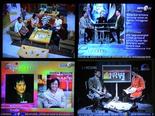 Roy Suryo Merintis e-Lifestyle di Metro TV.
