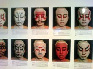 Pemeran tarian Kabuki