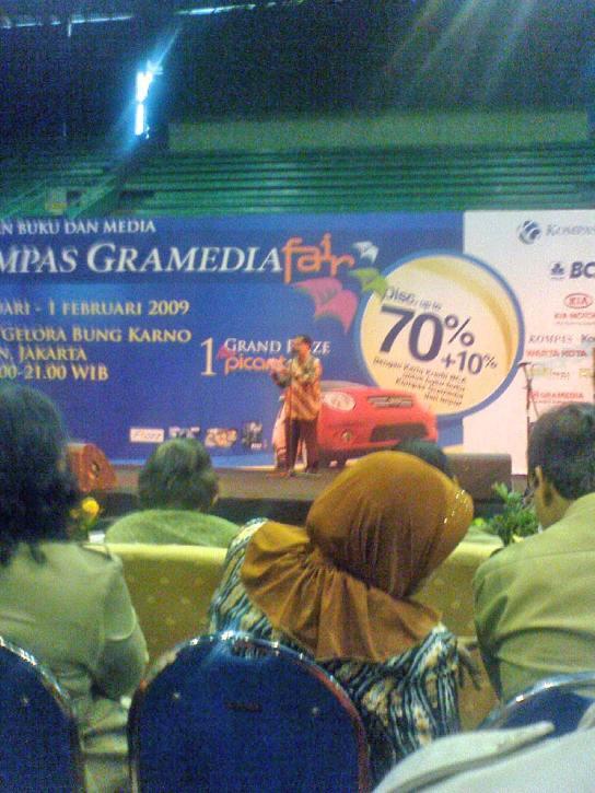 Heri Darmawan, Ketua Panitia Kompas Gramedia Fair