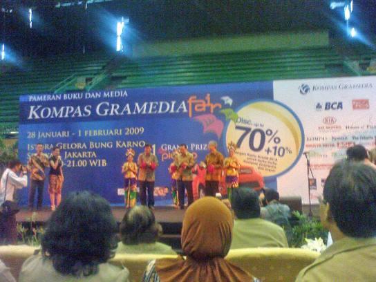 Peresmian Kompas Gramedia Fair Jakarta 2009
