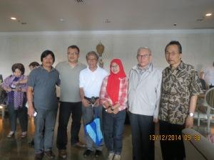 Tribuana Said, Tarman Azzam, Nurul, TD Asmadi, Totok Suhardiyanto, Jajat Sudrajat